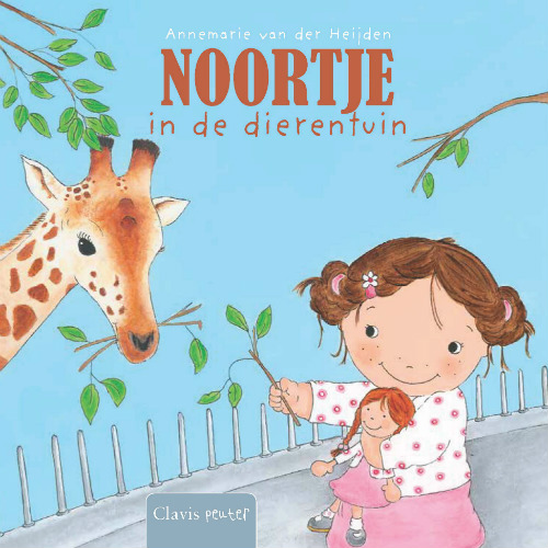 Noortje at the Zoo