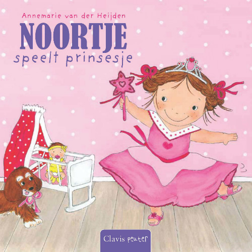 Noortje Pretends She is a Princess