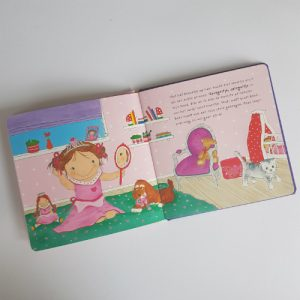 Noortje speelt prinsesje boek